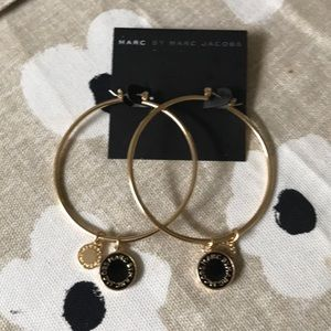 NWT Marc Jacobs hoops w charms